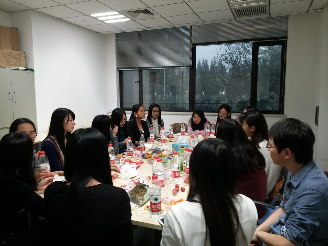 东华大学2014年管理学院研究生会访问复旦管院团学联